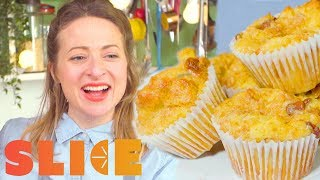 Bread and Butter Muffins | Kids in the Kitchen
