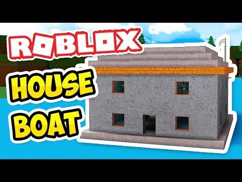 HOUSE BOAT - Roblox Build a Boat for Treasure