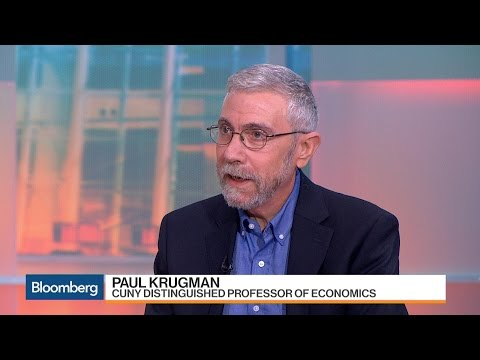 Paul Krugman: Monetary Policy Is 'Pretty Ineffective'