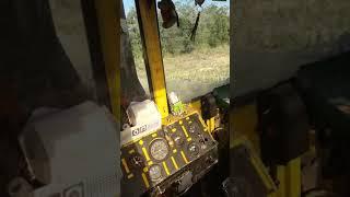 Трактор к701 пахота bascalia