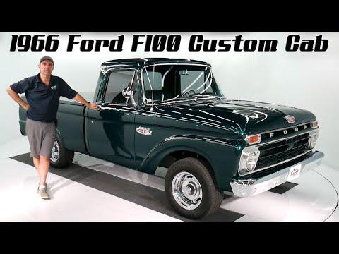 V18190 - 1966 Ford F100 Custom Cab