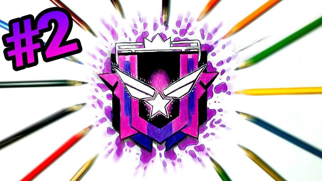 Como Colorir A Patente Diamante 4 Free Fire Como Dibujar El Logo Diamante 4 Free Fire