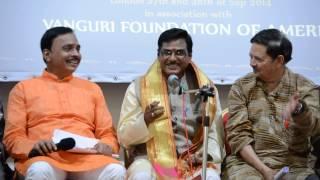 Dr. P Shyamalananda Prasad Ashtavadhanam6 at UKTA 4th World Telugu Literature Conference in London