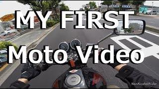 Honda Hornet 250 and Start Moto Vlog