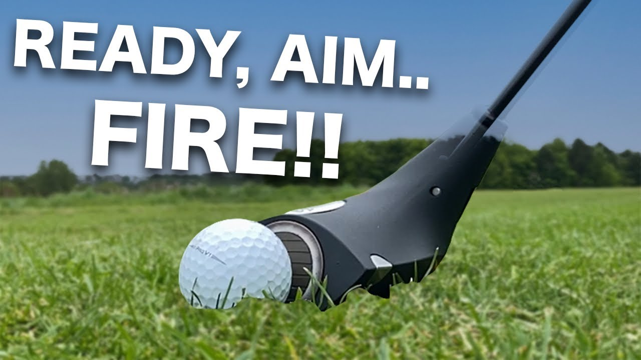 The SWINGLESS Golf Club | 200+ yards EASY - YouTube