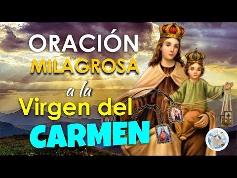 Oración Milagrosa A La Virgen Del Carmen Para Casos Muy Difíciles Y Urgentes