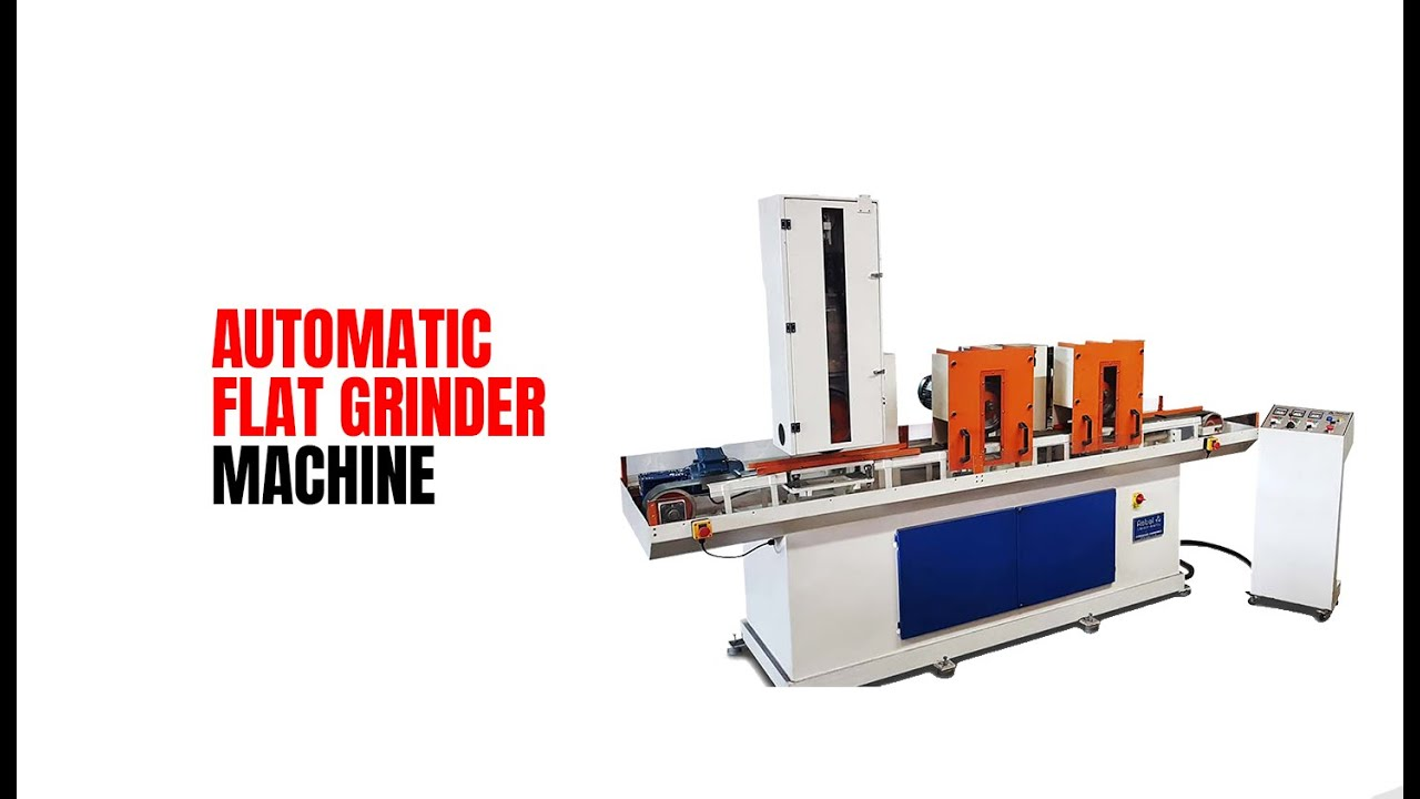 Automatic Flat Grinder Machine | Foundry Grinder | Rebel