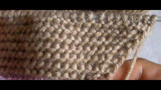 Урок 8. Вязание спицами: прибавка полотна перекрещенным накидом(В этом уроке показано как сделать прибавку перекрещенным накидом на полотне платочной вязки. Наш сайт..., 2015-08-06T12:40:51.000Z)
