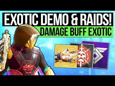 Destiny 2 News | TRACTOR CANNON 2.0 & DLC MODE! Damage Buff Exotic, New Raid Bosses & Energy Relic!