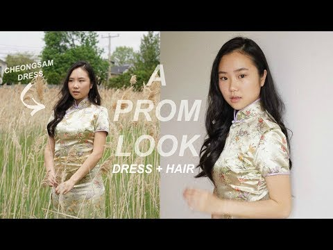 ✨THRIFTED PROM LOOK: cheongsam dress✨ What I Would've Worn To Prom   THATTOMMYGIRL