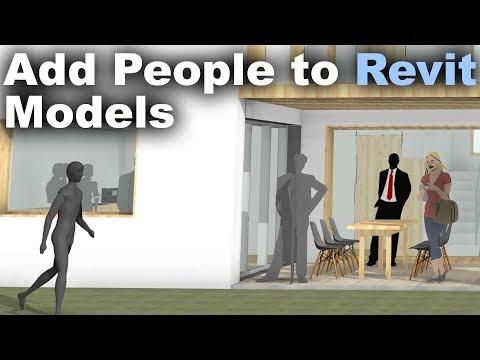 Add People to Revit Models Tutorial