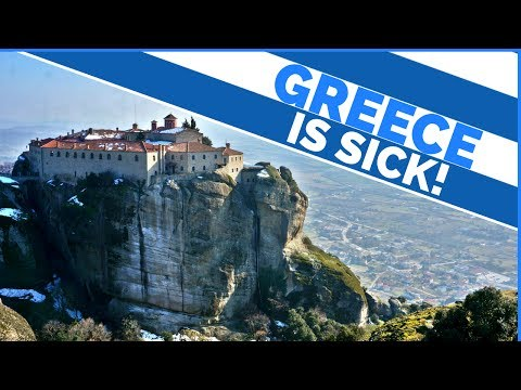 EPIC GREECE TRIP | Travel Meteora | HUGE TOWERING MOUNTAINS