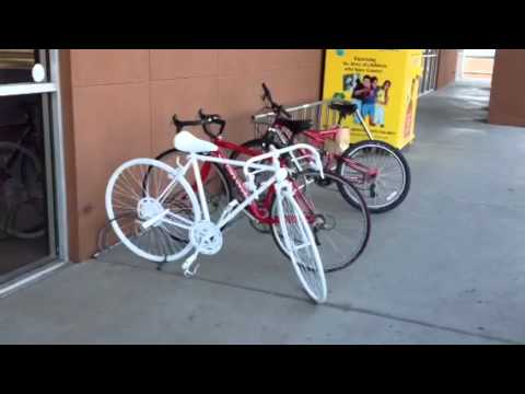 Ghost bike, Las Cruces, NM