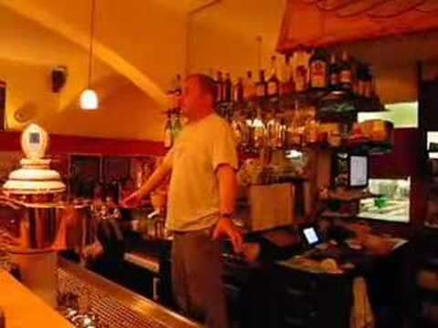 "karaoke - ""Time to Say Goodbye"" at the Türkenhof, München"