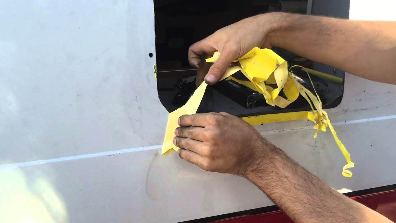 The Boltline Van Adding Windows