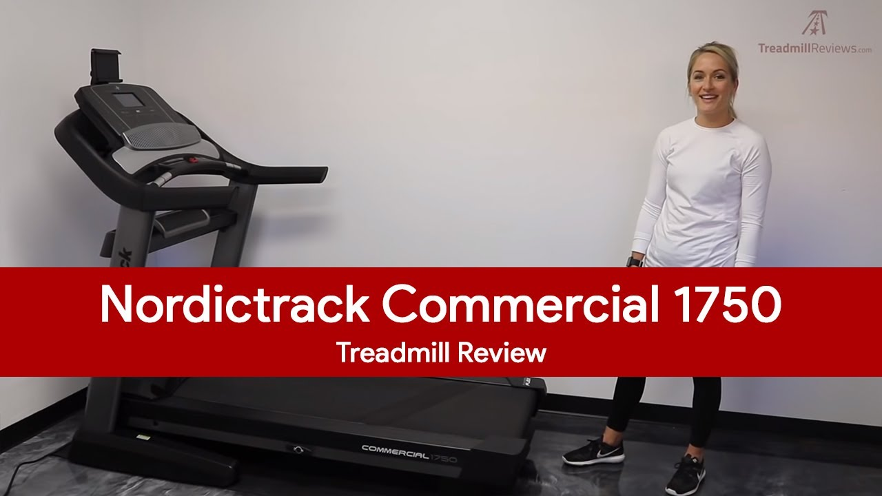 Nordictrack commercial 1750 treadmill review top fitness magazine.