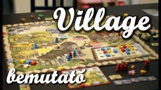 Village - társasjáték bemutató
