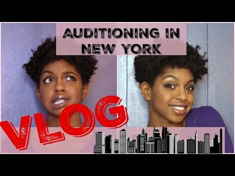 VLOG: First Off Broadway Audition & Alone in NY