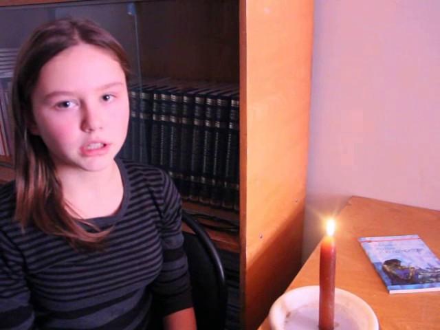 Изображение предпросмотра прочтения – ВикторияЗимина читает произведение «Молитва (В минуту жизни трудную…)» М.Ю.Лермонтова