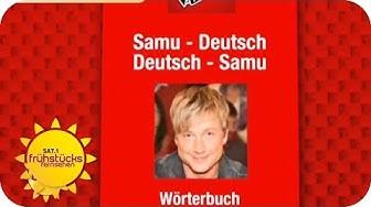 Sprachkurs mit Samu Haber  | SAT.1 Frühstücksfernsehen
