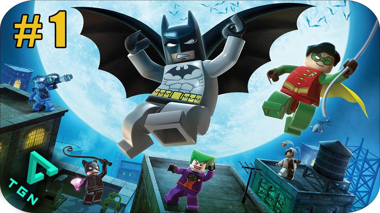 Lego Batman Capitulo 1 Puedes Contar Con Batman Hd 720p Youtube