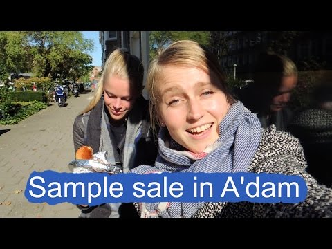 Sample Sale in Amsterdam! | Weekvlog #9
