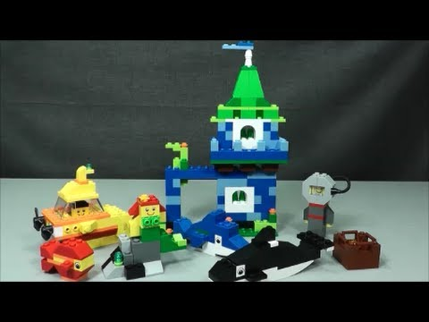 Lego 4630 Underwater Scene Youtube
