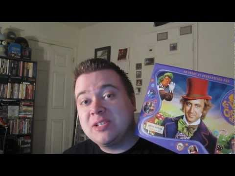 Unboxing Willy Wonka And The Chocolate Factory 40th Anniversary Ultimate Collector's Edition Box Set