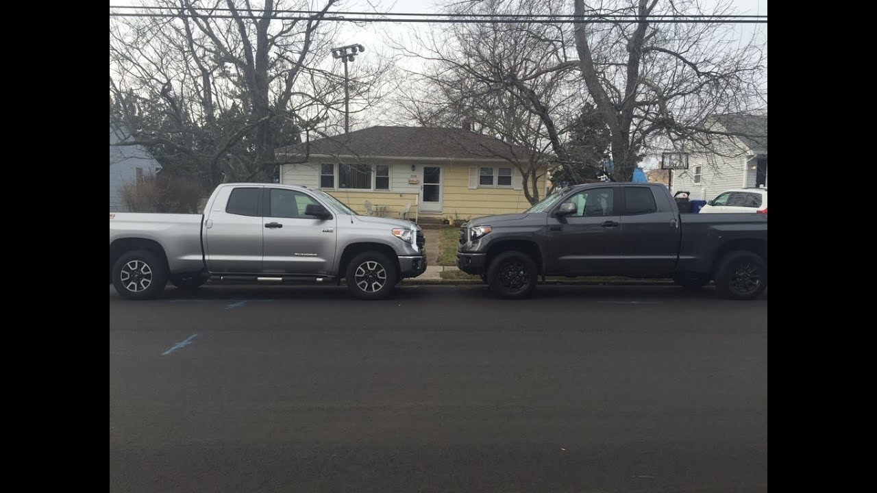 Toyota Tundra TRD Pro vs TRD Off Road Package. Which one ...