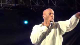 """Donnie McClurkin - Enters Stage - """"Days of Elijah"""" & """"No God Like Jehovah"""" -June 15. 2013"""