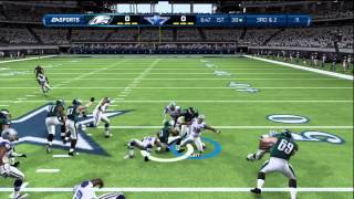 Madden NFL 13 Gameplay: Philadelphia Eagles vs. Dallas Cowboys - Xbox 360