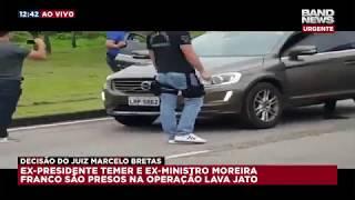 Imagens mostram momento da prisão de Moreira Franco thumbnail
