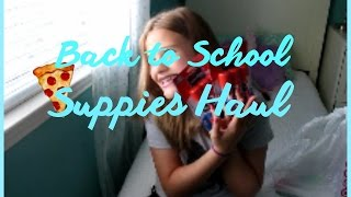 School Supplies Haul! #BacktoSchool Thumbnail