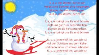 A, a, a, der Winter, der ist da. Текст рождественской песенки на немецком языке с переводом