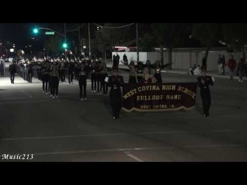 West Covina HS - The High School Cadets - 2016 Covina Christmas Parade