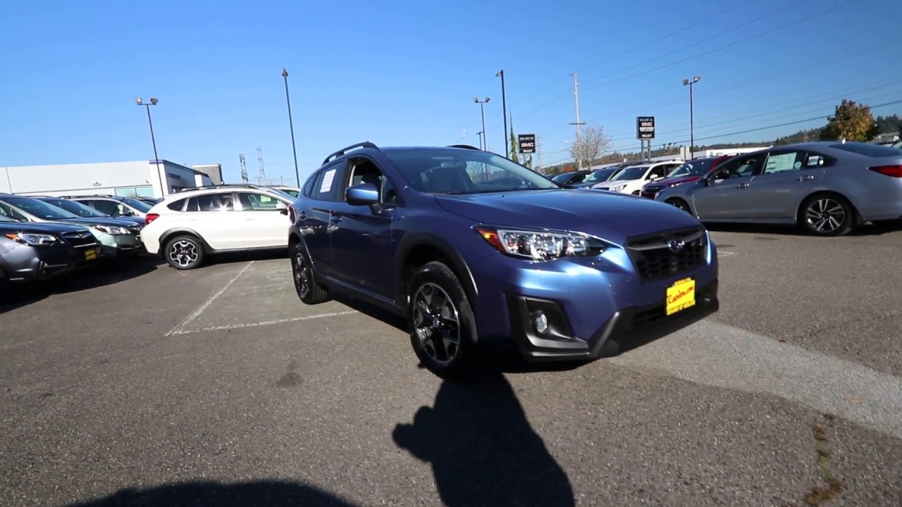 Auburn Way Autos >> 2018 Subaru Crosstrek 2.0i Premium | Quartz Blue ...