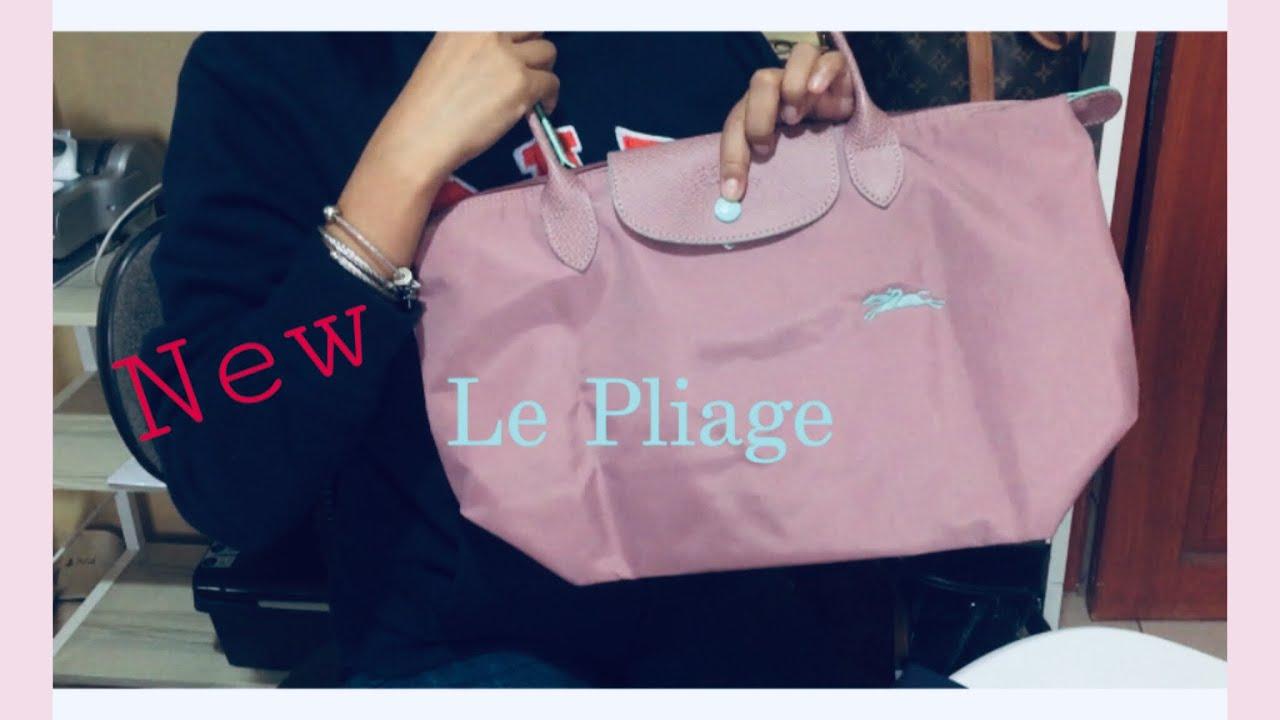 Longchamp Le Pliage 2019 | New Version in Antique Pink