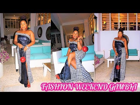 Things to do in The Gambia: Fashion Weekend Gambia   Vlogmas Day 25