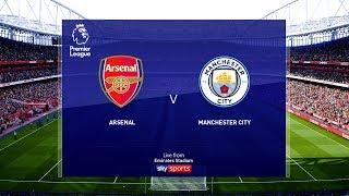 Arsenal vs Manchester City - Premier League 2019 Gameplay