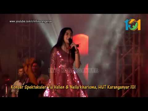 Konser Via Vallen & Nella Kharisma SAYANG 2, 101 Karanganyar