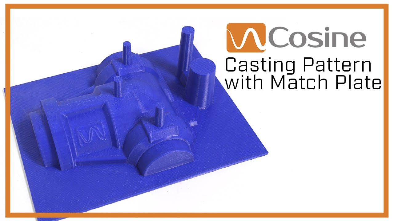 Print of the Day - Casting Pattern Match Plate