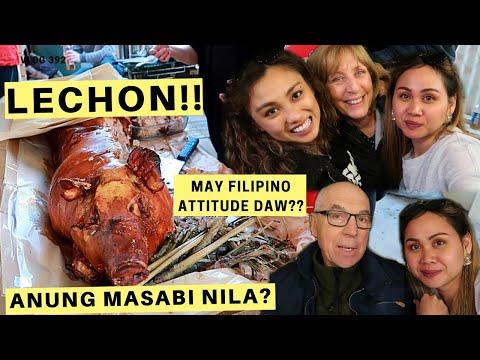 FILIPINO PARTY SA BAHAY | ANDITO MGA IN-LAWS KUMAIN DIN NG LECHON