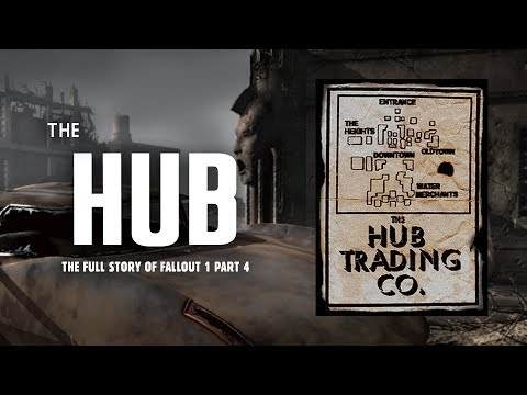 The Full Story of Fallout 1 Part 4: The Hub - Crime & Intrigue in the Wasteland's Biggest City