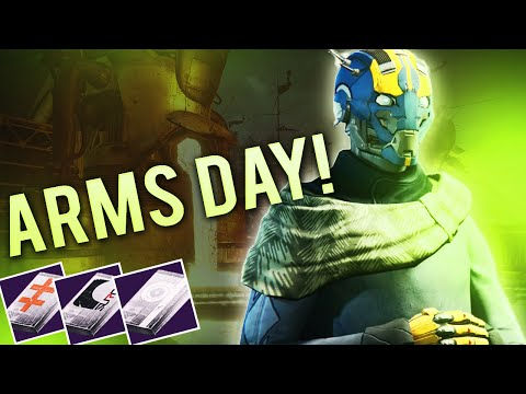 Destiny - ARMS DAY! Foundry Orders, Buys for Next Week and Sneak Peak for #MadeItToTheEnd Crowd. :)