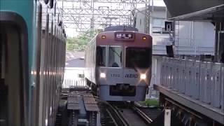 京王井の頭線 1000系1703F編成リニューアル車 吉祥寺駅到着・発車