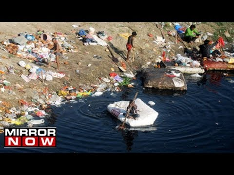 Untreated Sewage Dumped Into River Yamuna In Faridabad
