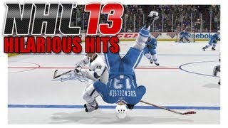 NHL 13 | HILARIOUS HITS