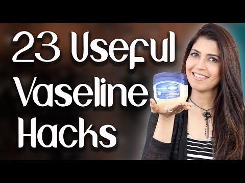 23 Everyday Useful Vaseline Hacks / Beauty Hacks - Ghazal Siddique