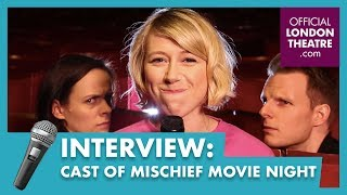 10 Questions with the cast of #MischiefMovieNight