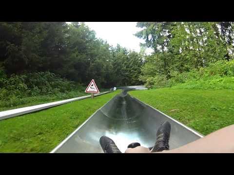 Sommerrodelbahn Wasserkuppe 16.08.2012